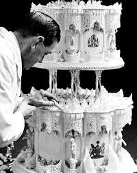 Royal Wedding Cake Slice Queen Elizabeth s Wedding Cake Up For Auction PHOTO