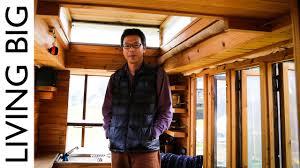 104 Japanese Tiny House Master Craftsman In Japan Builds Amazing On Wheels Youtube