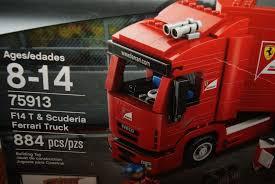 100 Ferrari Truck LEGO Speed Champions F14 T Scuderia Bags For Set