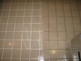 best way to clean white shower tile and grout