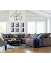Macys Elliot Sofa by Rhyder 3 Pc U0027l U0027 Shaped Fabric Sectional There U0027s No Place Like