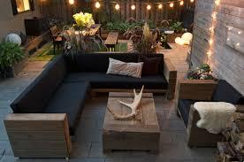 luxus garten möbel set eiche massiv mit polsterung eckcouch sessel tisch lounge set