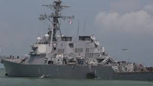 Uss America Sinking Photos by Cno Richardson Announces Investigation Operational Pause After