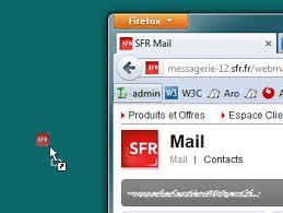 creer icone bureau créer un raccourci vers la messagerie sfr sur le bureau de windows