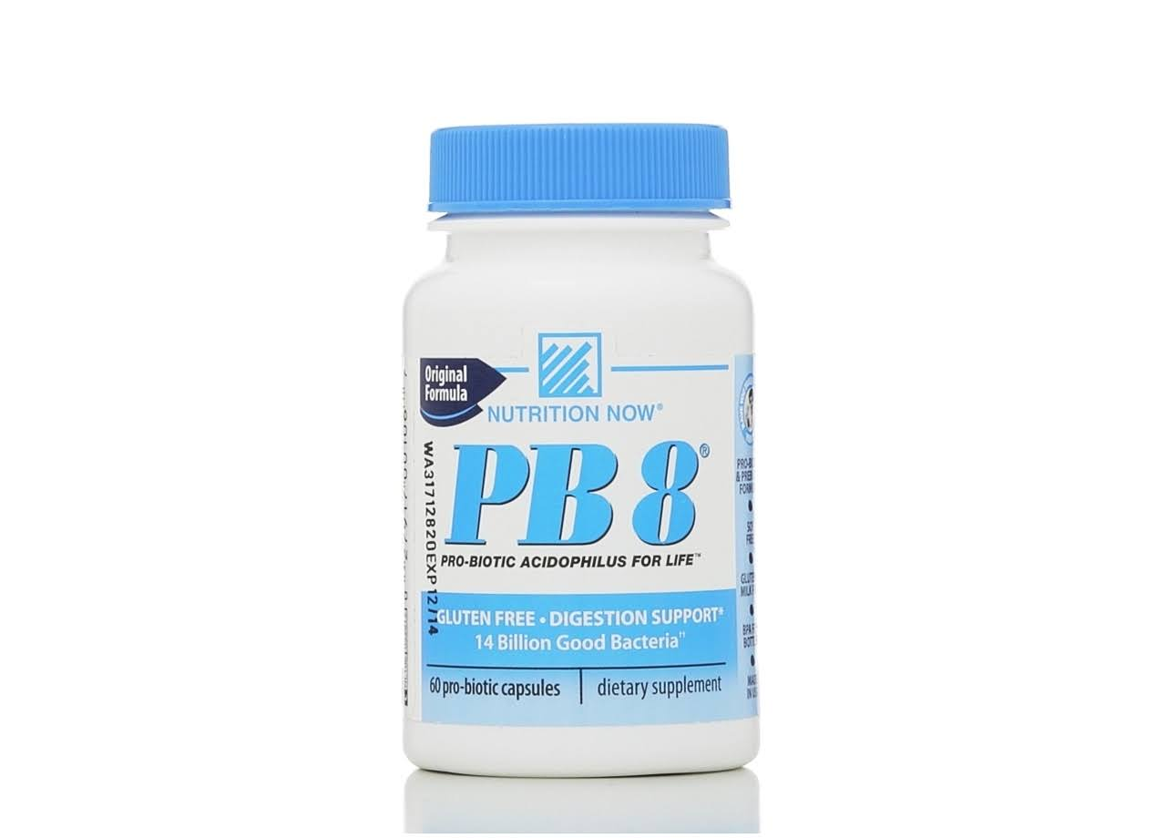 Nutrition Now PB 8 Acidophilus - 60 Capsules