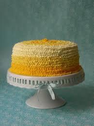 milchmädchen torte im ombre stil