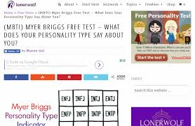 Beautiful 4 Letter Personality Test