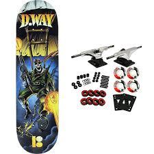 PLAN B Skateboard Complete WAY NO PRISONERS BLACK ICE 8.3