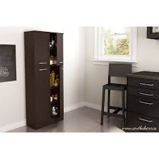 Garage Storage Cabinets At Walmart by South Shore Smart Basics 4 Door Storage Pantry Multiple Colors
