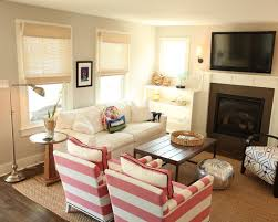 Small Space Family Room Decorating Ideas by Attractive Small Space Family Room Ideas Vibrant Blue Family Room