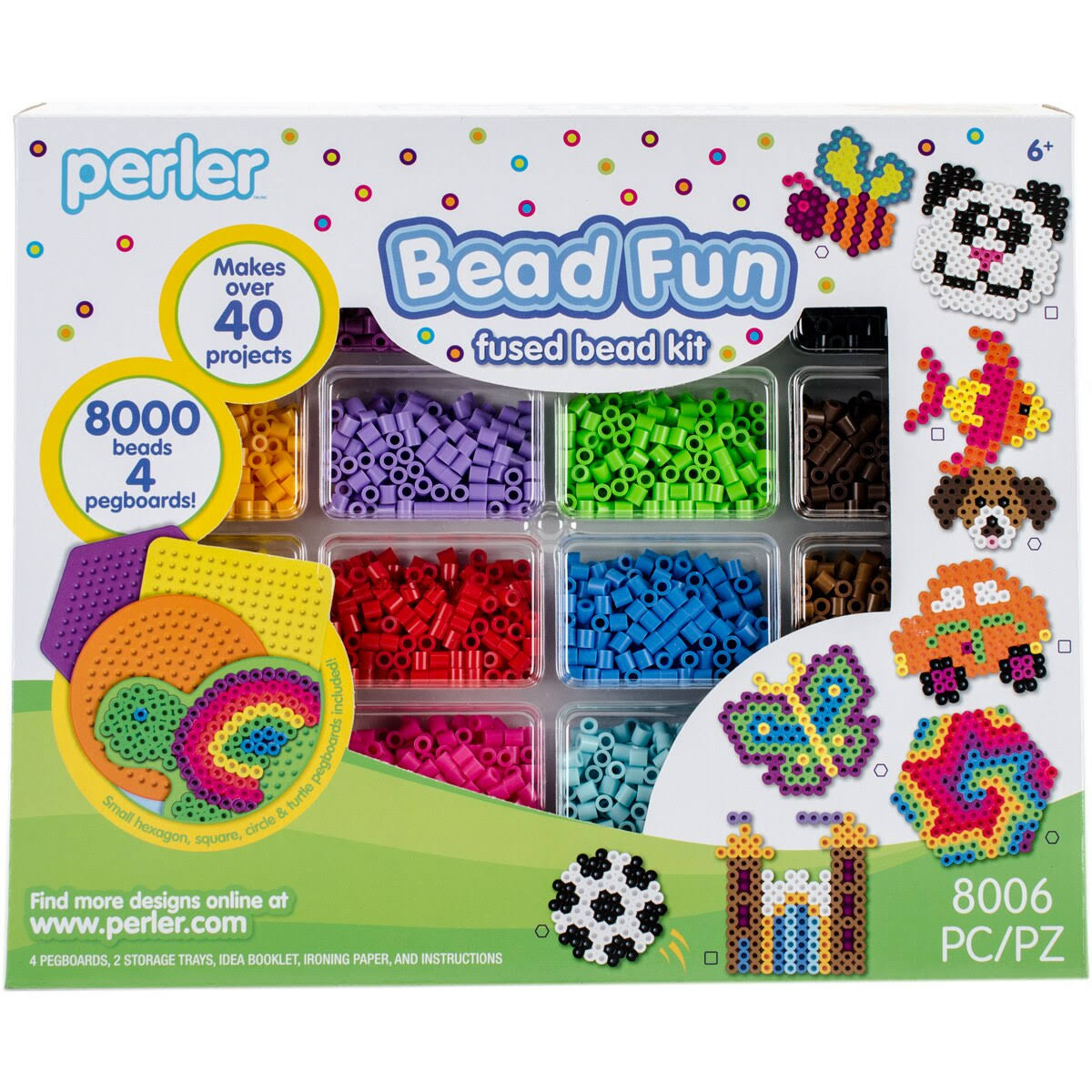 Perler Fused Bead Kit Bead Fun