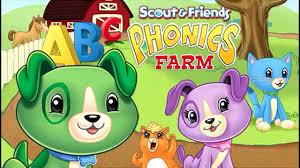 Scout Friends Phonics Farm Reading Skills DVD For Kids LeapFrog