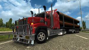 100 Euro Truck Simulator Free Download MACK TITAN V8 V15 126 ETS2 2