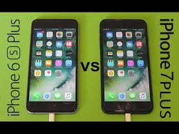 iPhone 7 Plus vs iPhone 6s Plus Speed Test Video Shows How They