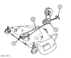 John Deere 48c Mower Deck Manual by How To Route Belt On My Jd 210 Mytractorforum Com The