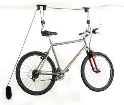 Ceiling Mount Bike Lift Walmart by 12 Ways To Store A Bike In Stylegarage Hooks Garage Walmart