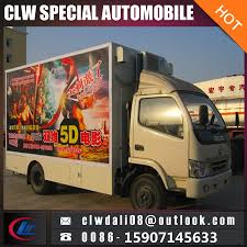 China 5D Mobile Movie Screening Truck With High Quality - China ...