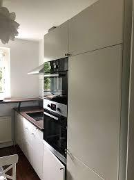 ikea küche komplett mit 8 funktionsfähigen elektrogeräten zweizeilig abholbereit