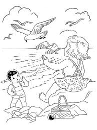Summer Coloring Pages 12