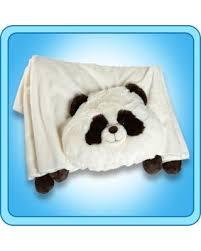 SPECTACULAR Deal on Authentic Pillow Pet fy Panda Blanket Plush