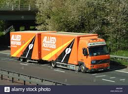 100 Allied Trucking Pickfords Removals Lorry And Trailer On Dual Carriageway