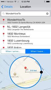 How to Set & Trigger Location Based Reminders on Your iPhone  iOS