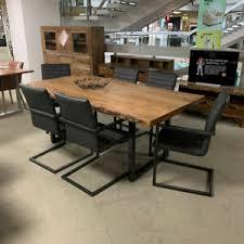 tisch stuhl sets aus massivholz mit bis 6 fürs esszimmer