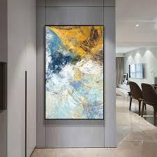 moderne abstrakte kunst deco ölgemälde auf leinwand wand kunst bild home decor wohnzimmer impressionismus gemälde