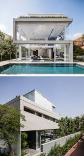 100 Glass Modern Houses 13 House Exteriors Made From Concrete Concrete