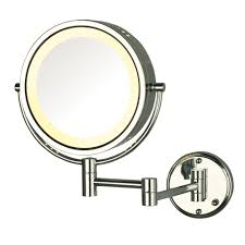 zadro 15 in l x 12 in w led lighted wall mirror in rubbed