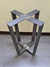 square tube metal dining table base 1102—779