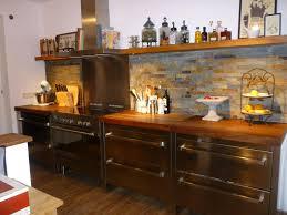 küche ansicht quarzitwand küche steinwand dierau