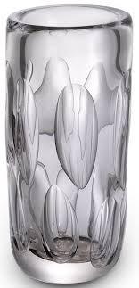 casa padrino luxus deko glas vase ø 14 x h 29 cm elegante mundgeblasene blumenvase wohnzimmer deko accessoires