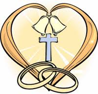 Back Gallery For Wedding Bells And Crosses Clipart