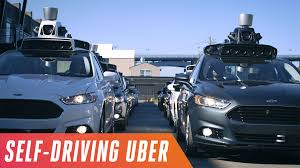 100 Women Flashing Truck Drivers Behind The Wheel Of Ubers New Selfdriving Car Which Hits The Road