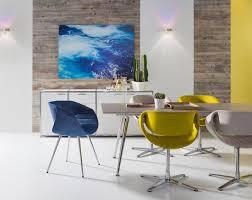 farbenfrohe drehstühle fürs esszimmer weißerstuhl