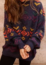 2 Day SALE 1299 Funky Pattern OverSized Mystery Sweaters