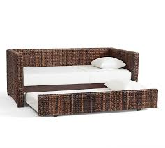 Seagrass Headboard Pottery Barn by Seagrass Daybed With Trundle Pottery Barn