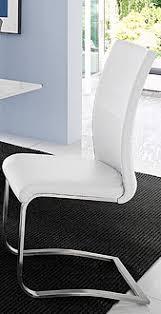 2 konferenzstühle esszimmer stühle 2 x schwingstuhl ausführung weiss 2909
