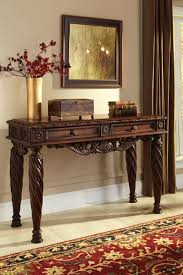 Traditional Dark Brown Norcastle Sofa Table by Bedroom Glamorous Sofa Console Tables Jacks Warehouse Table