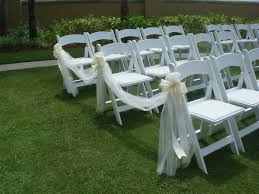 Wedding Ceremony Chair Decorations | Tulle And Ribbon Bows | Morning ... 40 Pretty Ways To Decorate Your Wedding Chairs Martha Stewart Weddings San Diego Party Rentals Platinum Event Monogram Decorations Ideas Inside Tables And 1888builders Spandex Folding Chair Cover Lavender Padded Hire For Outdoor Parties In Sydney Can Plastic Look Elegant For My Ctc 23 Decoration White Galleryeptune Aisle Metal Unique Reception Seating