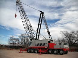 Lattice Boom Truck Cranes : Barnhart Crane & Rigging