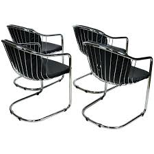 Chrome Leather Dining Chairs – Rocard
