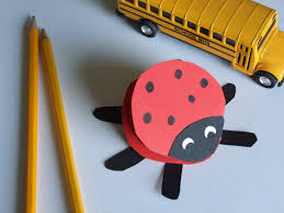 Katie Claire Easy Crafts For Kids Paper Ladybug 9bC1gkzd