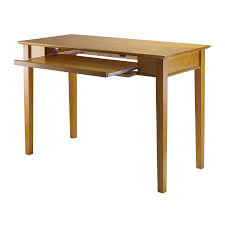 Staples Corner Desk Oak by Amazon Com Winsome Wood Computer Desk Honey Kitchen U0026 Dining