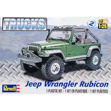 100 Plastic Model Trucks Kit Jeep Wrangler Rubicon 125 Walmartcom