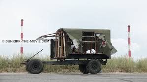 51 Photos Of Truck During The Shooting Of The Movie Dunkirk.