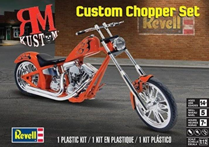 Revell 7324 Custom Chopper Set Plastic Model Kit - 1/12 Scale