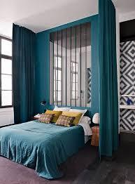d馗o chambre bleu canard déco chambre bleu canard pour un intérieur serein et agréable