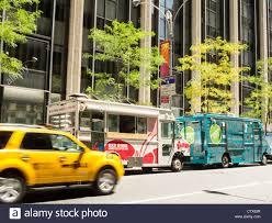 100 Food Trucks In Nyc Gourmet NYC Stock Photo 49749611 Alamy